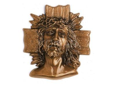 Vezzani Krisztus dombormű 15x13cm