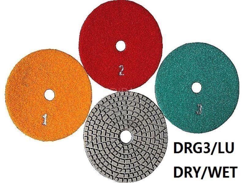 3 lépéses hibrid polírozó DRG/3LU-wet3#