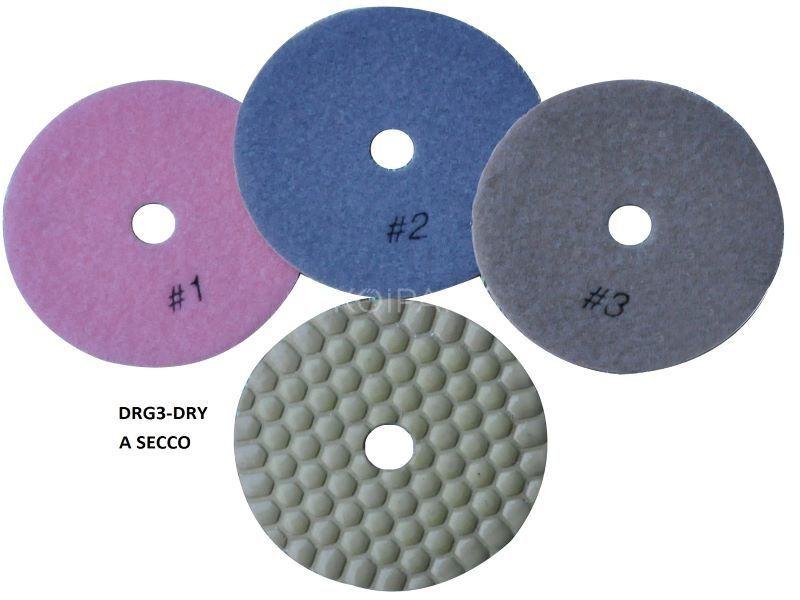 3 lépéses száraz polírozó DRG/3-DRY3#