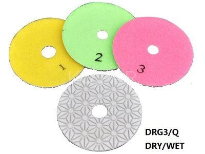 3 lépéses vizes polírozó DRG3/Q